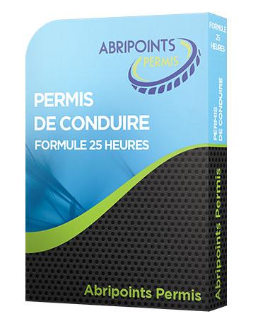PERMIS DE CONDUIRE FORMULE 25 HEURES